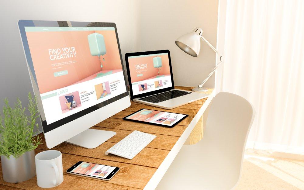 Kreativt webdesign